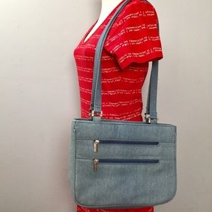 Chambray Denim Purse Blair